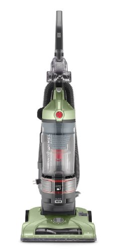Hoover UH70120 T-Series WindTunnel Rewind Plus Upright Vacuum Cleaner, with HEPA Media Filtration, Lightweight and Corded, Green