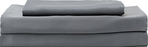 Hotel Sheets Direct Bamboo Bed Sheet Set - 100% Viscose from Bamboo Sheet Set, Cooling, Thermoregulating, Hypoallergenic (Queen, Purple)