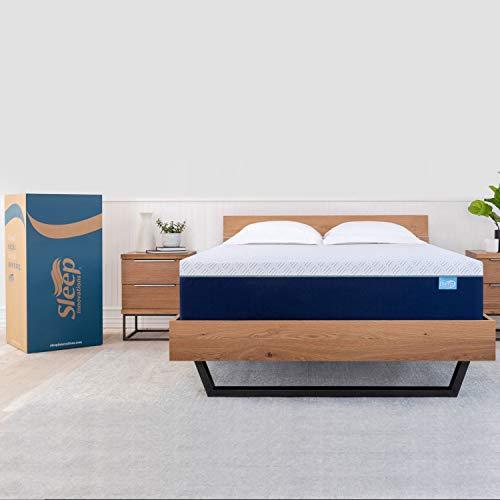 Sleep Innovations Shiloh 14-inch Memory Foam Mattress, Queen, White