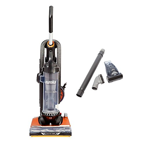 Eureka AS3401AX Brushroll Clean Pet Upright Vacuum with Suction Seal Technology