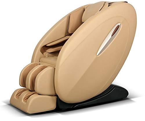 ideal massage Full Featured Shiatsu Chair with Built in Heat Zero Gravity Positioning Deep Tissue Massage - Beige