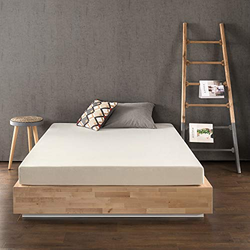 Best Price Mattress 6 Inch Memory Foam Mattress, Calming Green Tea Infusion, Pressure Relieving, Bed-in-a-Box, CertiPUR-US Certified, Full