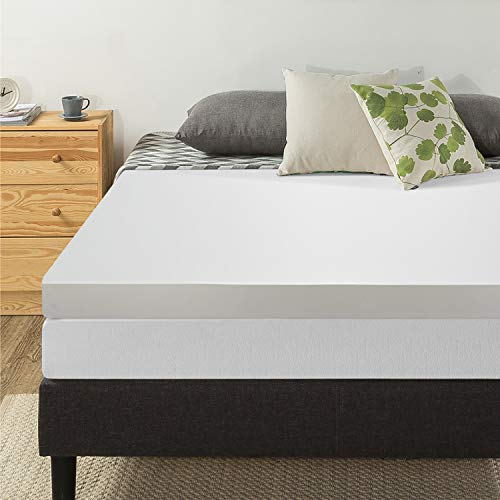 Best Price Mattress 4' Memory Foam Mattress Topper, Queen