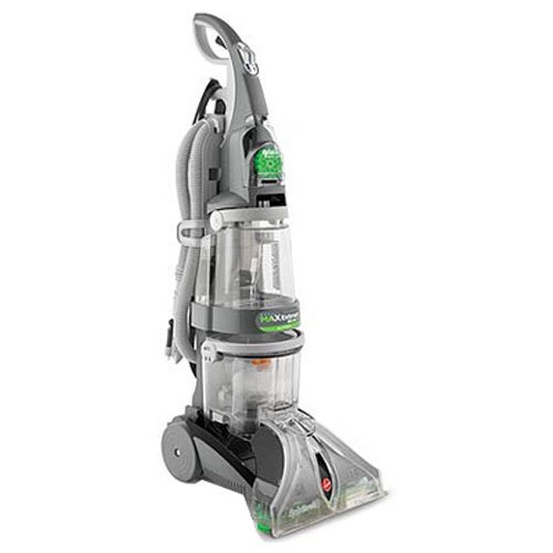 Hoover Carpet Cleaner Max Extract Dual V WidePath Carpet Cleaner Machine F7412900,Black