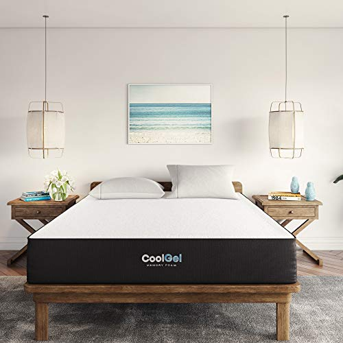 Classic Brands Cool Gel Bed Mattress Conventional, Queen, White