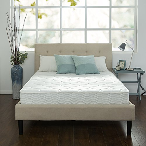 ZINUS 8 Inch Quilted Pocket Spring Mattress / Bed-in-a-Box, Queen