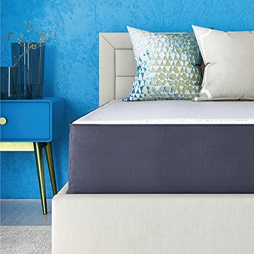 Classic Brands Cool Gel Ventilated Memory Foam 10-Inch Mattress | CertiPUR-US Certified | Bed-in-a-Box, Queen