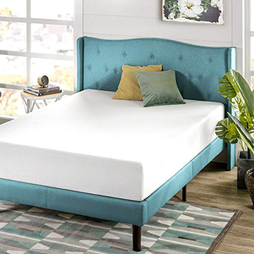 Zinus Green Tea Mattress, Queen, White