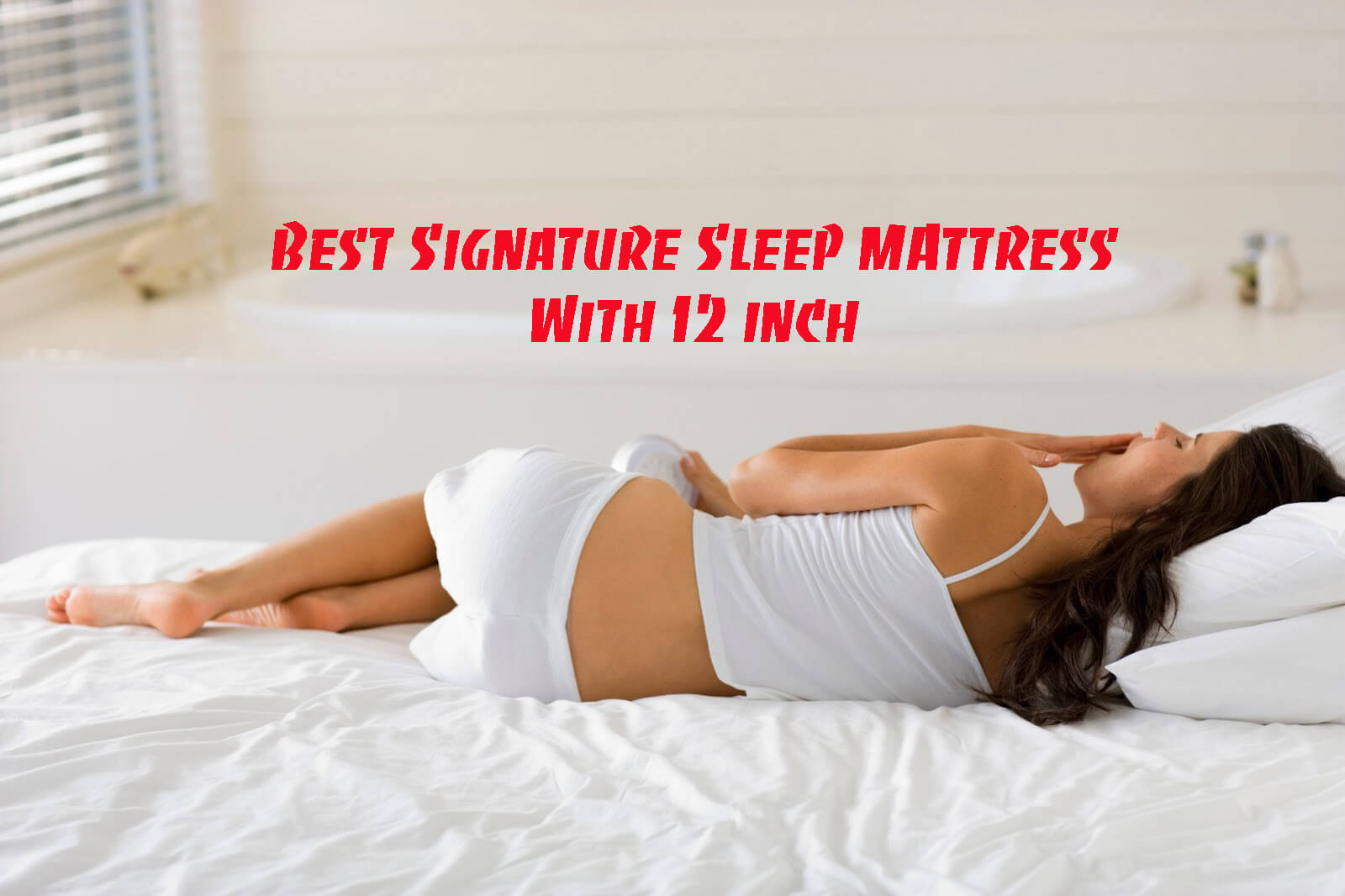 Signature Sleep Memoir 12 inch Memory Foam Mattress