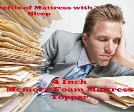 Best 4 Inch Memory Foam Mattress Topper