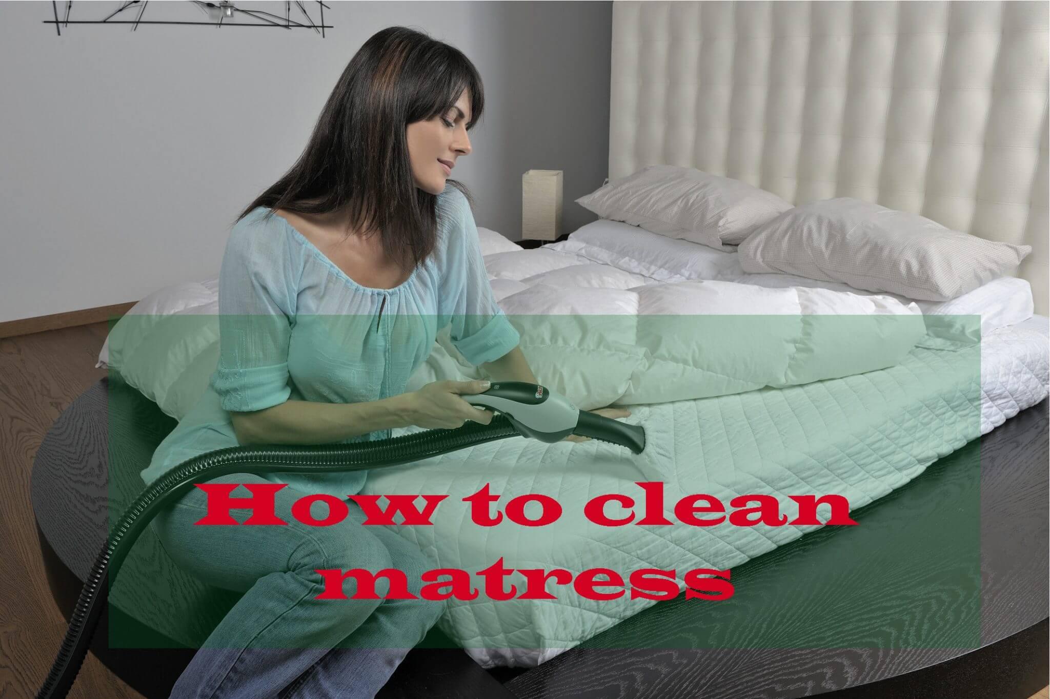 how to keep mattress clean