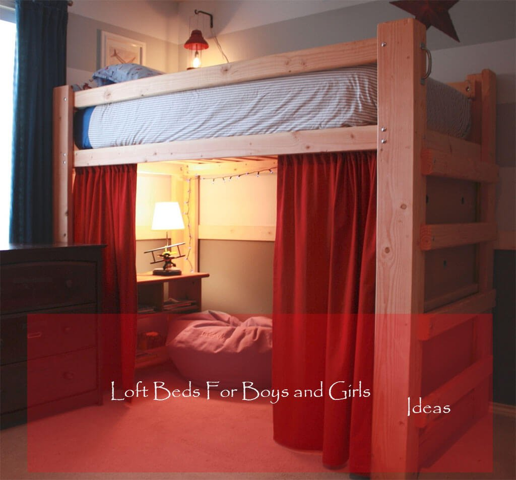 Best Loft & Bunk Beds With Mattress For Kids & Girls