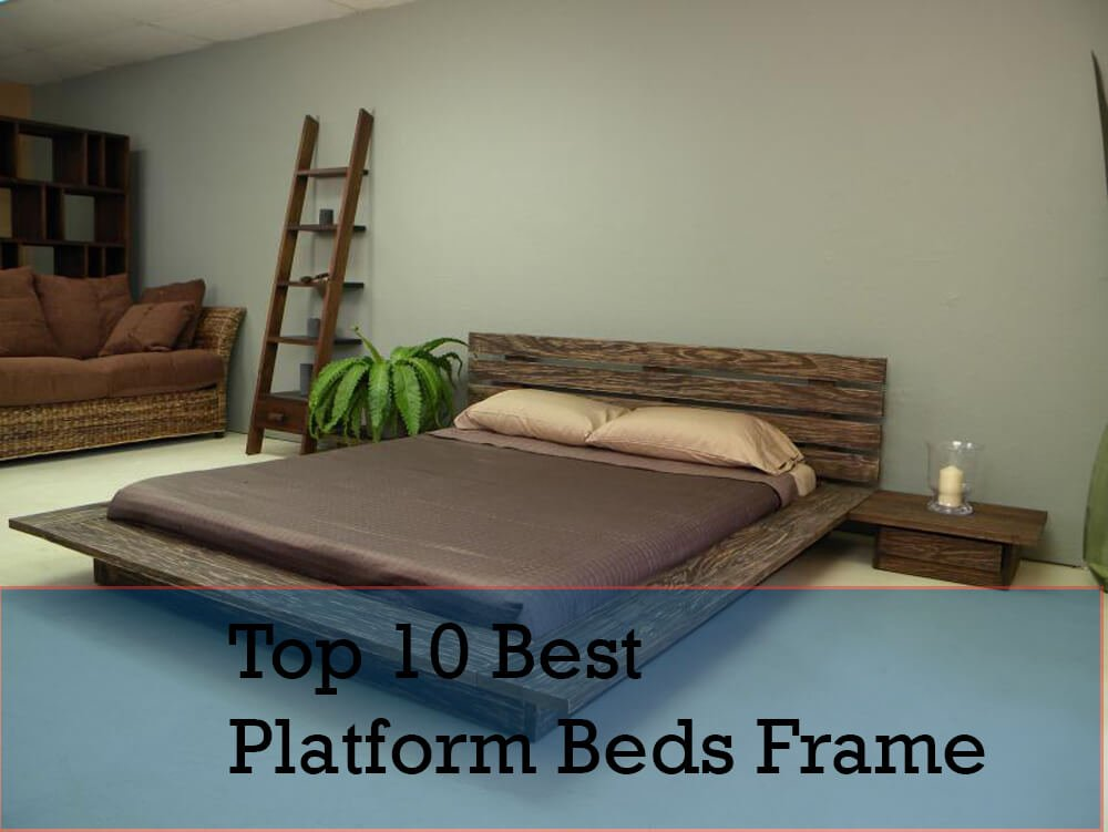 Top-10-Best-Mattress-and-Platform-Beds-Frame-in-2018