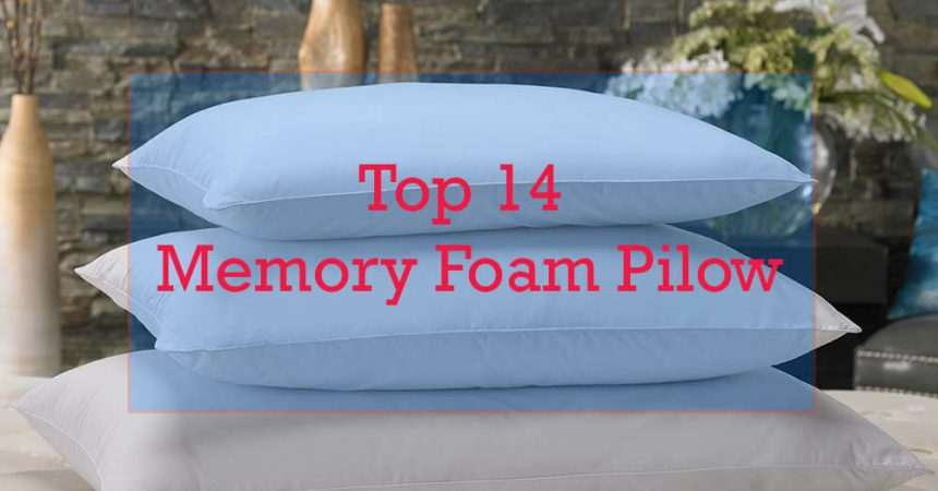 Top 14 Best Memory Foam Pillow