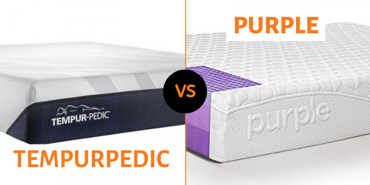 Purple Vs. TempurPedic Mattress Comparison – Which One Wins? 1