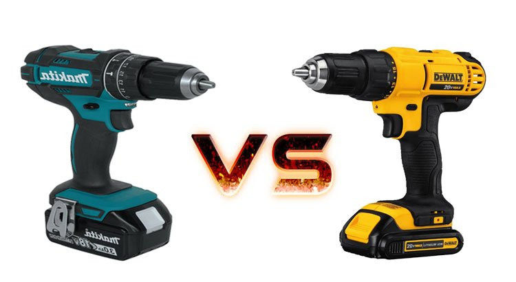 DeWalt Vs Makita Power Tools