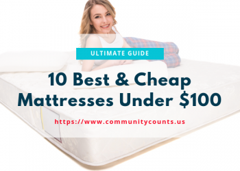 10 Best & Cheap Mattress Under $100 – Ultimate Buyer's Guide 1